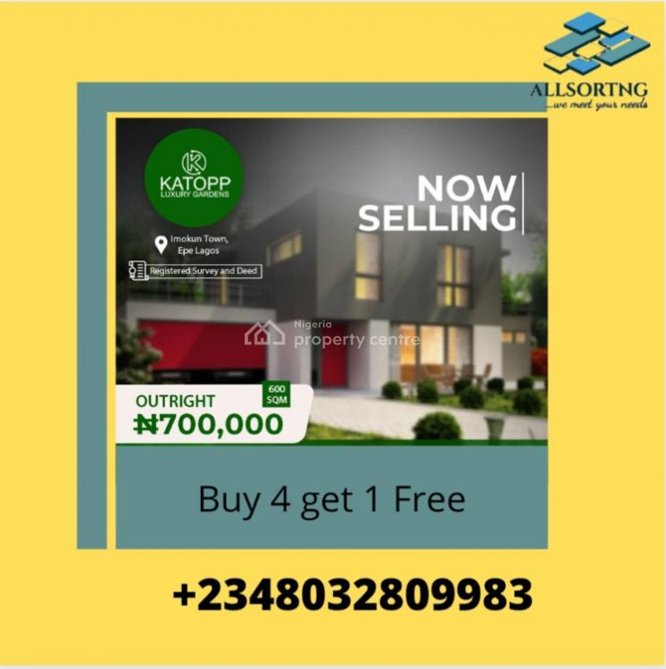 Cheap Land with Allocation, Katopp Luxury Garden, Epe, Lagos, Land for Sale