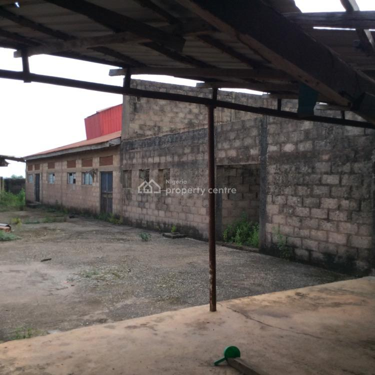 Non Functional and  Strategically Located Factory, Likosi Area After Ogijo Ikorodu, Ogijo, Ogun, Factory for Sale