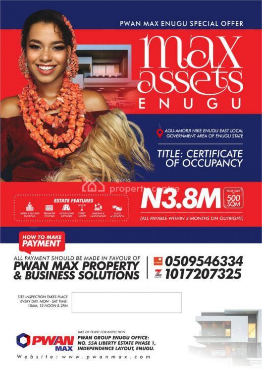 Invest, Enugu Road, Max Assets Estate, Enugu, Enugu, Mixed-use Land for Sale