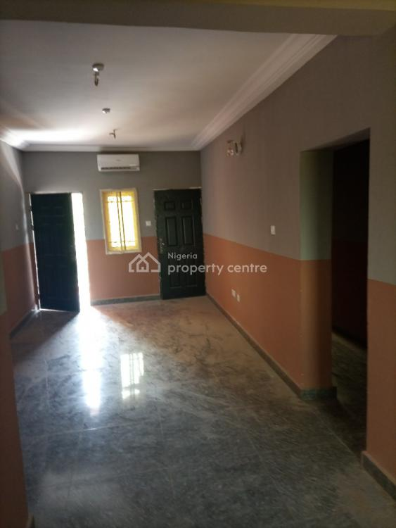 Luxury 2 Bedroom Flat Serviced with Ac, By Magistrate Court, Life Camp, Abuja, Flat for Rent