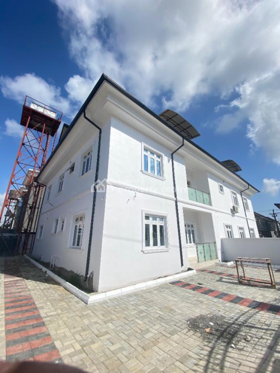 a 4 Bedroom Semi Detached Duplex with Bq, Chevron, Lekki, Lagos, Semi-detached Duplex for Rent