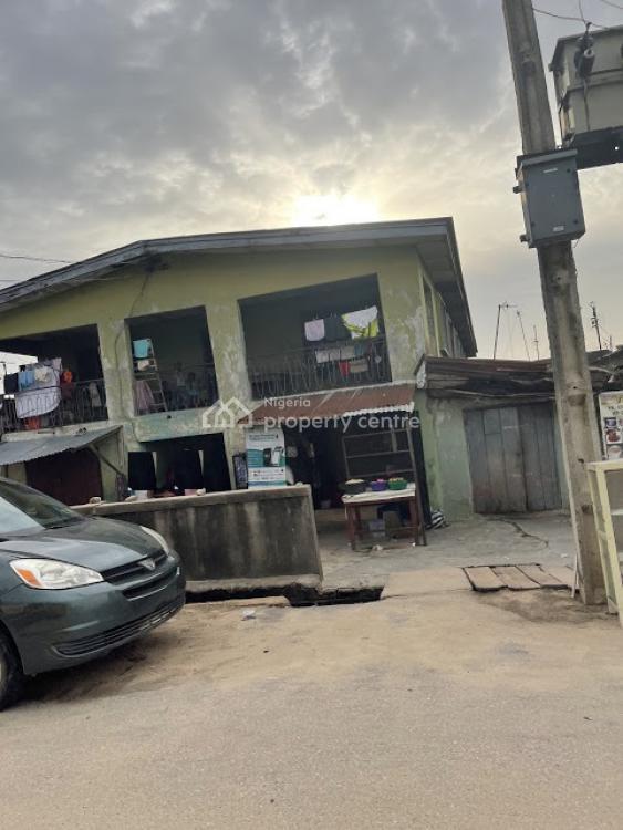 a One Storey Building, Palmgrove, Shomolu, Lagos, Block of Flats for Sale