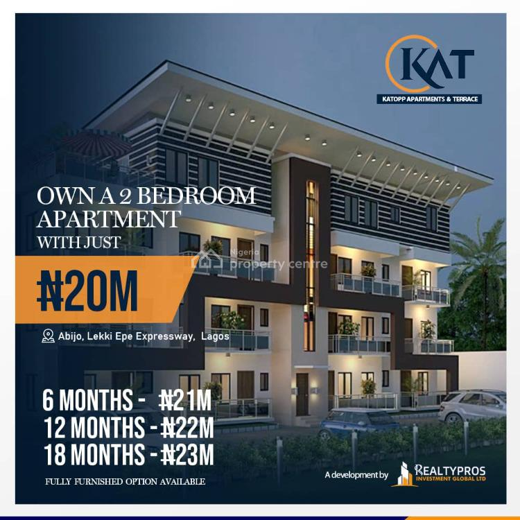 Luxury 2 Bedrooms Apartment in a Nice Estate (with Payment Plan), Flourish Gate Garden Estate, Close to Novare Shoprite, Abijo, Lekki, Lagos, Block of Flats for Sale