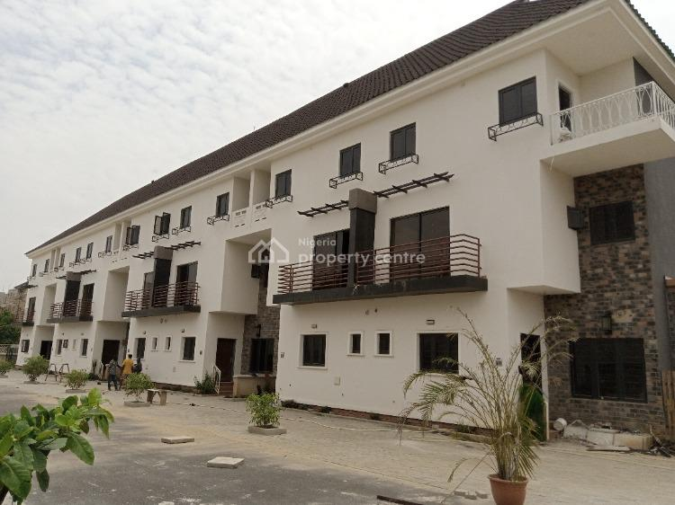 4 Bedroom Terrace Duplex with a Bq, District, Jahi, Abuja, Terraced Duplex for Sale