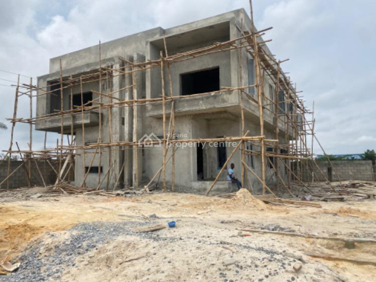 3 Bedroom Semi Detached Duplex with Bq, Abijo, Lekki, Lagos, Semi-detached Duplex for Sale