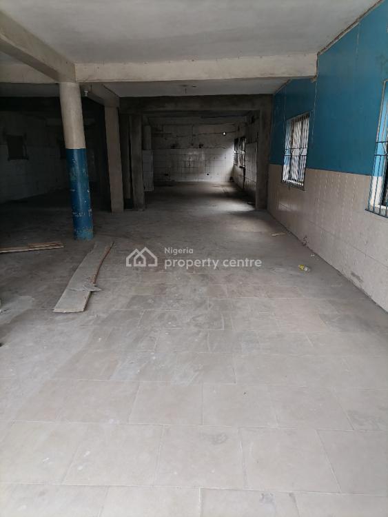 Massive Warehouse Measuring Over 200 Sqmtrs on Tarred Street, Ogba, Ikeja, Lagos, Warehouse for Rent