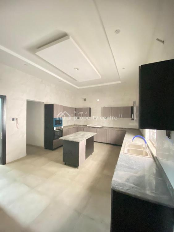 Exquisitely Finished 5 Bedroom Fully Detached with a Room Bq, Chevron, Lekki, Lekki, Lagos, Detached Duplex for Sale