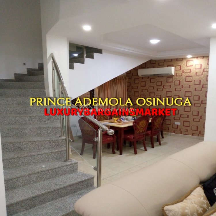Direct Cash Ready Buyers Only - Great Deal! 4 Bed Semi-detached House, Parkview, Ikoyi, Lagos, Semi-detached Duplex for Sale