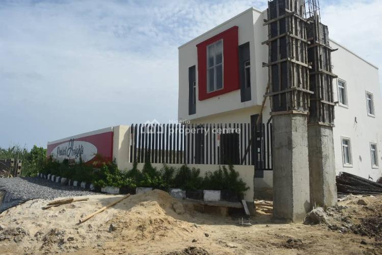 Luxury 3 Bedroom Apartment with Bq, Sangotedo, 2minutes Away From Novare Mall, Ajah, Lagos, Block of Flats for Sale