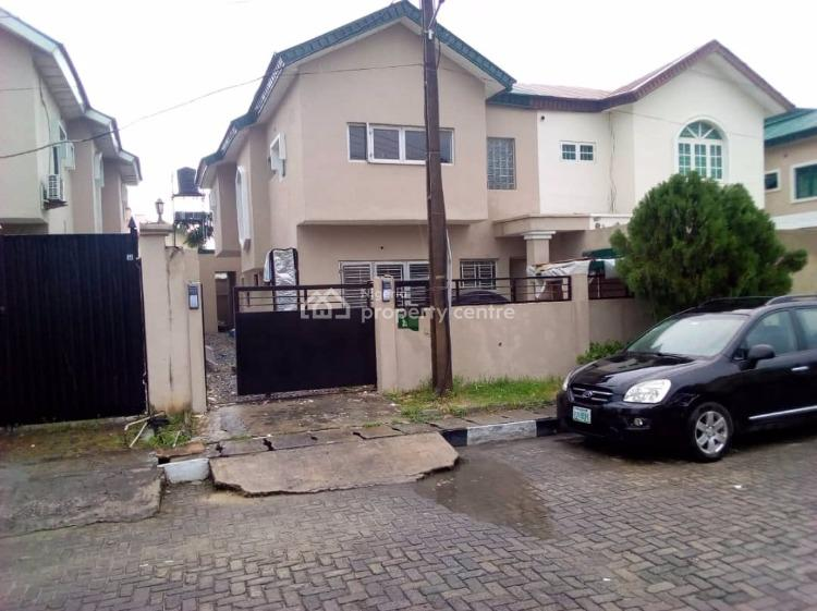 Renovated 4 Bedroom Semi Detached Duplex with 2 Rooms Bq, Lekki Phase 1, Lekki, Lagos, Semi-detached Duplex for Rent