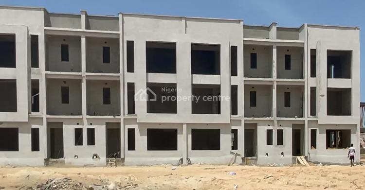 Luxury 2 Storey 4 Bedrooms Terraced Duplex, Beach Resort Estate, Nicon Town, Lekki, Lagos, Terraced Duplex for Sale