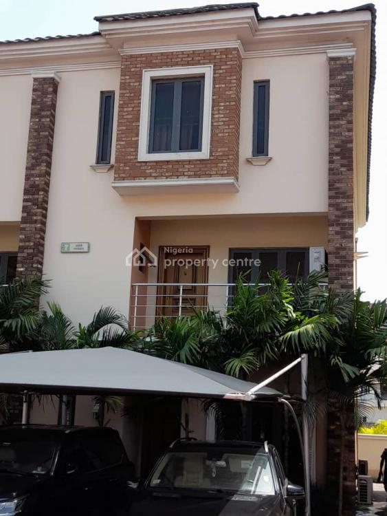 4 Bedrooms 3 Storey Terrace All En-suite  with Bq , 2 Cars Parking Space, Ikate Elegushi, Lekki, Lagos, Terraced Duplex for Sale