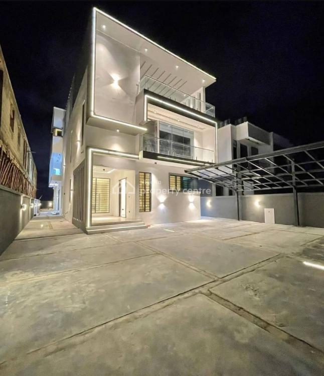 Modern 5 Bedroom Fully Detached House with a Bq, Osapa, Lekki, Lagos, Detached Duplex for Sale