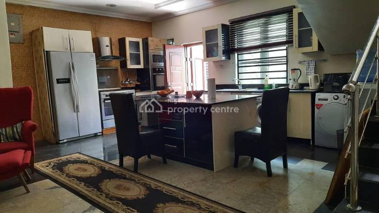 Exquisite 4 Bedrooms Detached Duplex & Bq Plus Furnitures, Gated Estate, Before Chevron, Agungi, Lekki, Lagos, Detached Duplex for Sale