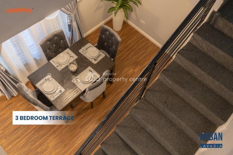 Smart 4 Bedroom Terrace + Bq, Abraham Adesanya, Ajah, Lagos, Terraced Duplex for Sale