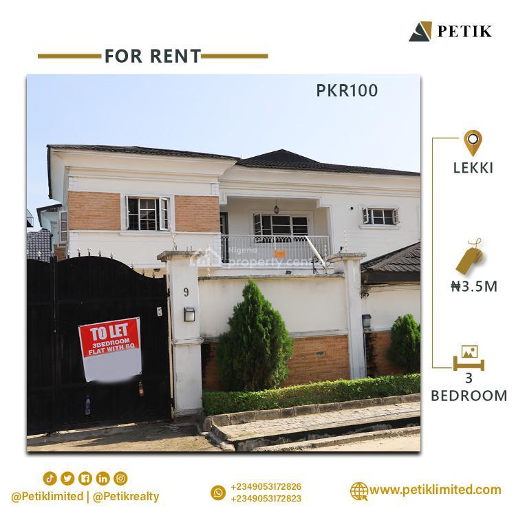 3 Bedroom Semi Detached + Bq, Lekki, Lekki, Lagos, Semi-detached Duplex for Rent