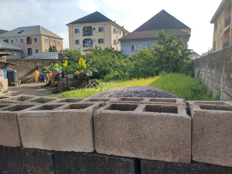 Standard Fenced 2 Plots of Land Together in a Serene/secured Estate, Unity Estate, Ago Palace, Isolo, Lagos, Residential Land for Rent