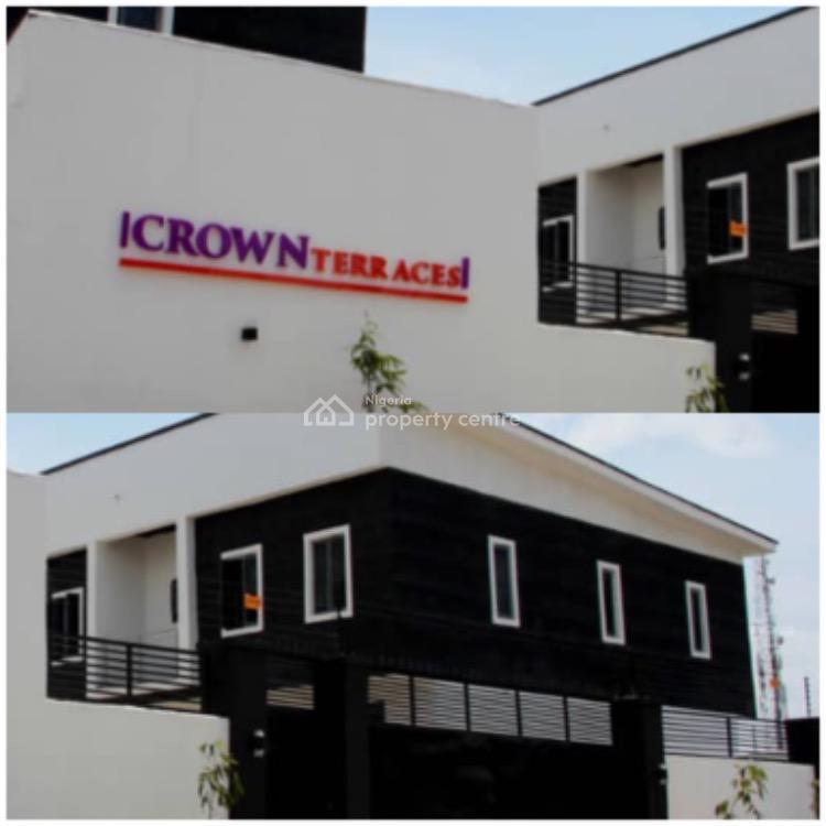 Grand Four Bedrooms Terraces, Crown Terraces., Sangotedo, Ajah, Lagos, Terraced Duplex for Sale