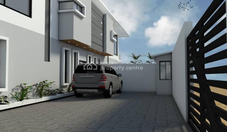 4 Bedroom Twin Duplex with Perfect Title, Off Olatunji Akinsanya, By Oguntana Crescent, Gbagada Phase 1, Gbagada, Lagos, Semi-detached Duplex for Sale