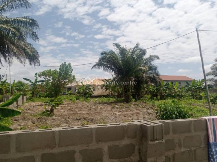 Half Plot of Dry Land in a Built Up Location, Olive Palm Garden, Behind Warike Hotel, Abijo, Lekki, Lagos, Mixed-use Land for Sale