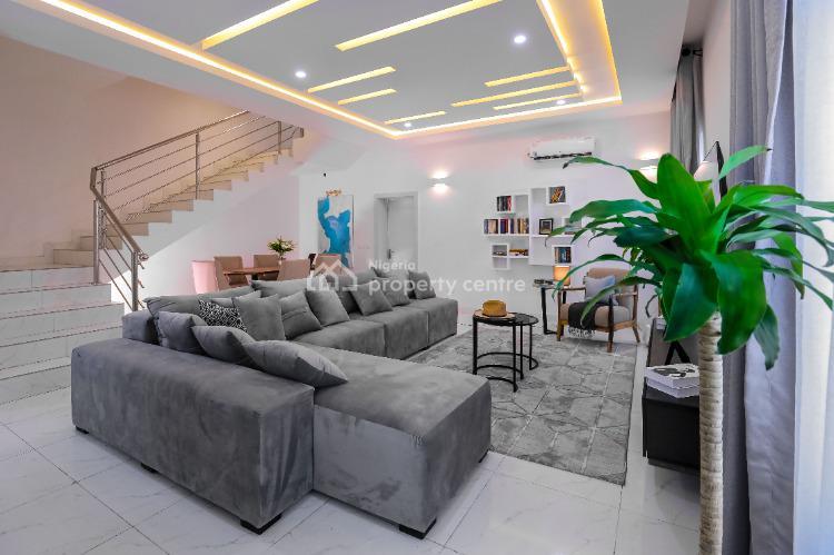 3 Bedrooms Terrace + Bq, Camberwell, Abijo Gra, Lekki, Lagos, Terraced Duplex for Sale