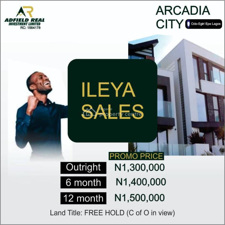 Landed Property, Odo Egiri Yewa, Epe, Lagos, Mixed-use Land for Sale