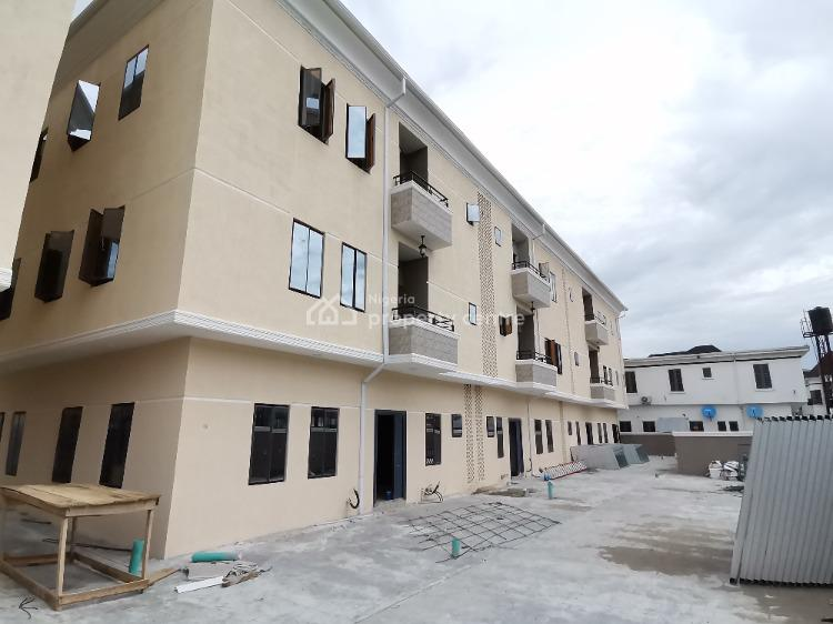 Serviced & Exquisitely Finished 4 Bedroom Terrace Duplex with Bq, Chevron Toll Gate, Lekki, Lagos, Terraced Duplex for Rent