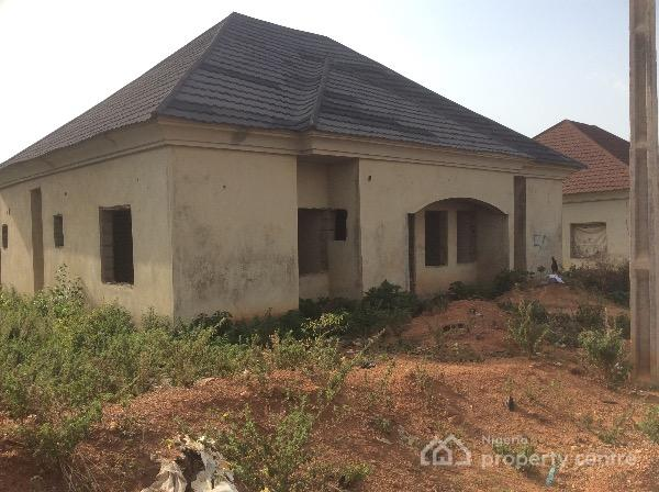 Carcass 3 bedroom bungalow gwarinpa abuja for Bungalow home for sale