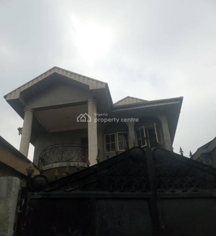 4 Bedrooms Detached Duplex in an Estate, Ogba, Ikeja, Lagos, Detached Duplex for Sale