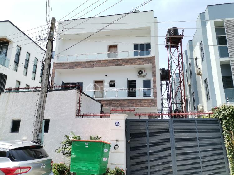 Magnificiently Finished 4 Bedrooms Terraced Duplex with Bq, Ilasan, Lekki, Lagos, Terraced Duplex for Sale