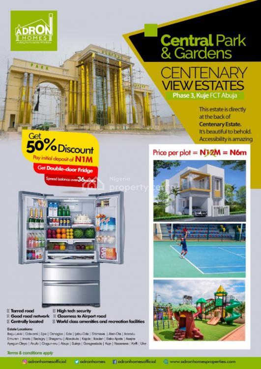 Estate Land, Behind Centenary City, Kuje, Abuja, Mixed-use Land for Sale