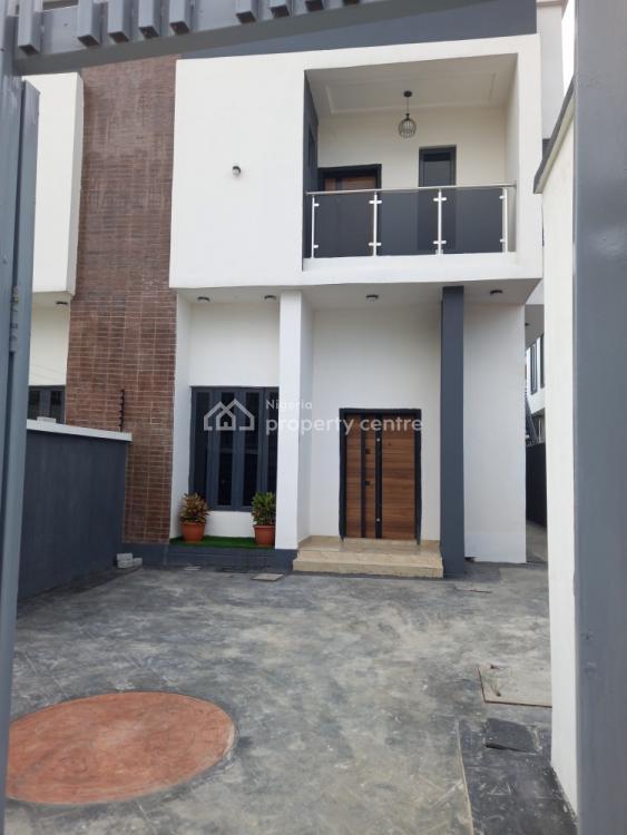 4 Bedroom Semi Detached Duplex with 1 Room Bq, Lafiaji, Lekki, Lagos, Semi-detached Duplex for Sale