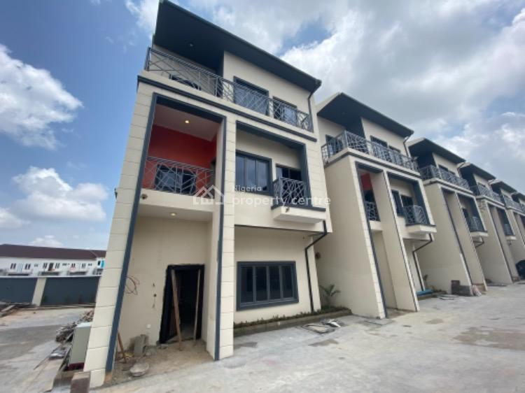 a Stunning Town House with Unique Fittings, Guzape District, Abuja, Terraced Duplex for Sale