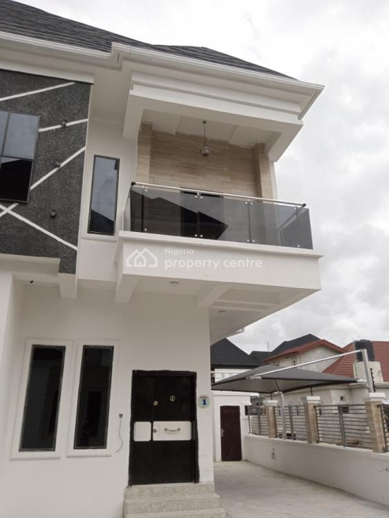 Lavishly Finished 4 Bedrooms Semi-detached Duplex + Bq, Orchid Road, By The Second Tollgate, Lekki, Lagos, Semi-detached Duplex for Sale