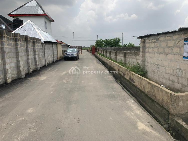2 Plots of Land with Dwarf Fence Carried Out, Off Eneka Lgwuruta Road, Eneka, Port Harcourt, Rivers, Mixed-use Land for Sale