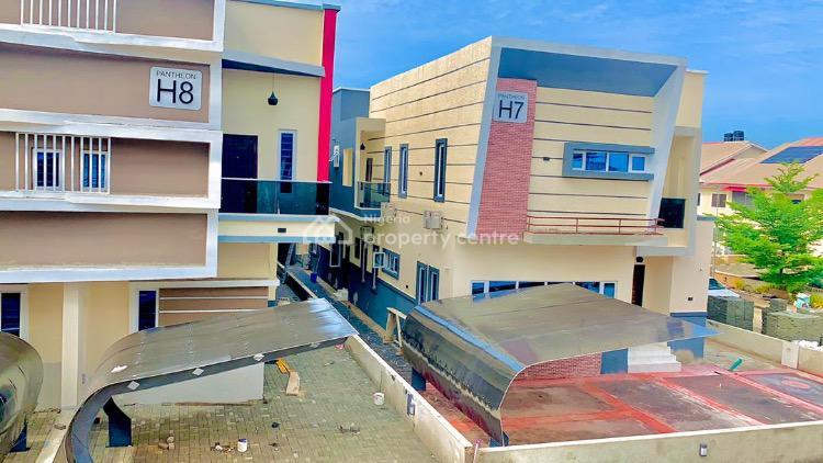 Full Automated Smart 4 Bedroom Semi Detached Duplex with Bq, 2nd Toll Gate, Lekki Phase 2, Lekki, Lagos, Semi-detached Duplex for Sale