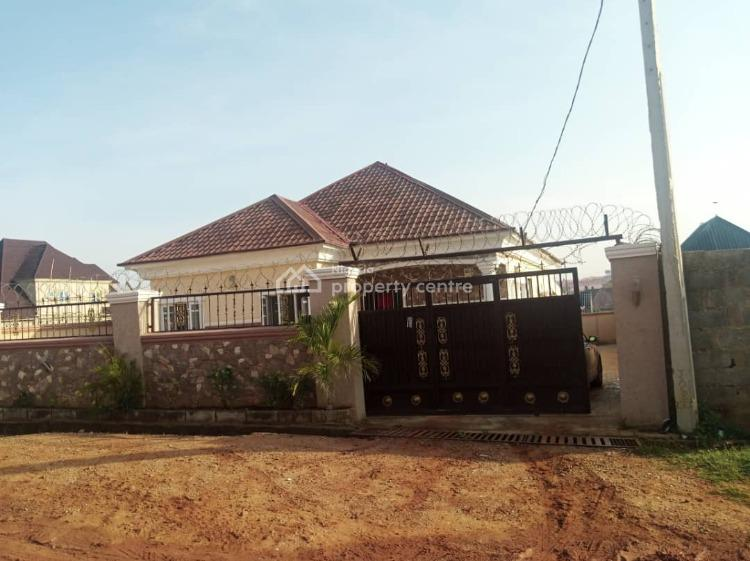 Fully Detached 3 Bedroom Bungalow (with New Ac and Cooker), Paradise Estate, Lugbe District, Abuja, House for Sale