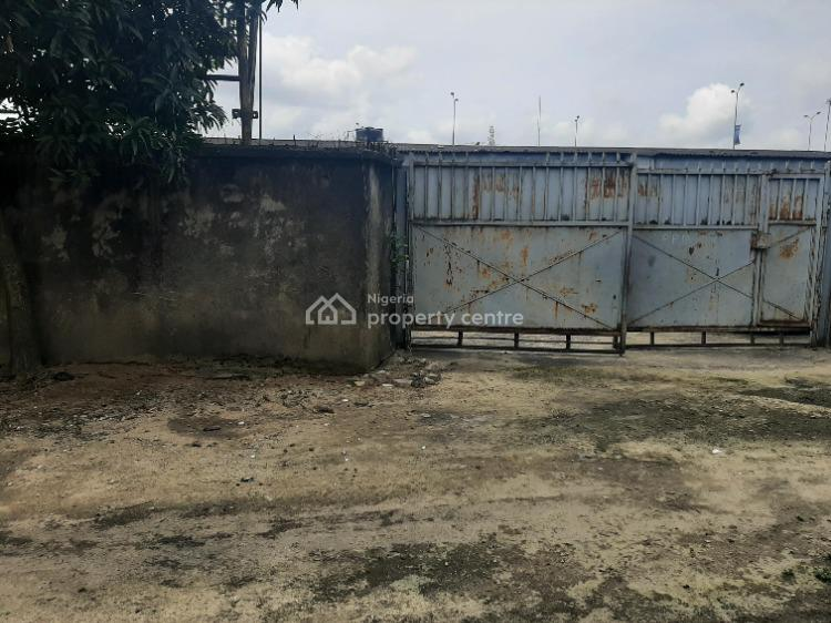 Well Accessible and Full Fenced Plot of Land, Aba Road, Port Harcourt, Rivers, Mixed-use Land for Sale