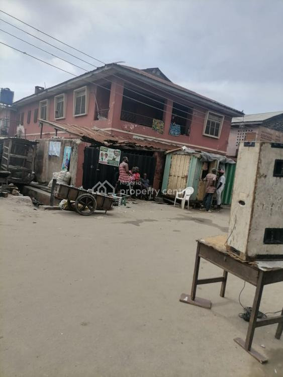 Nice Tenement Building in a Serene Environment, Olateju, Mushin, Lagos, House for Sale