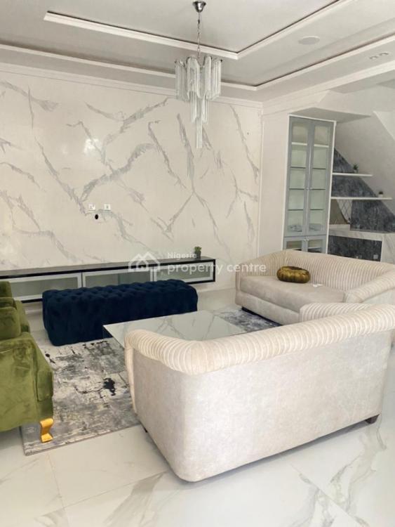 5 Bedroom Semi Detached Duplex with 1 Room Bq, Osapa, Lekki, Lagos, Semi-detached Duplex for Sale