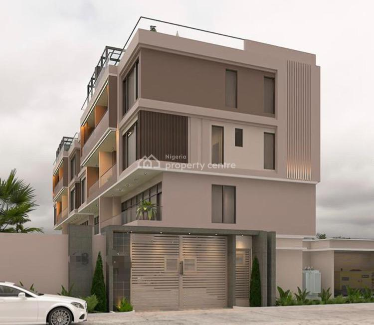 Newly Built 4 Bedroom Semi-detached House with Two Living Rooms., Off Alexander Road, Old Ikoyi, Ikoyi, Lagos, Semi-detached Duplex for Sale