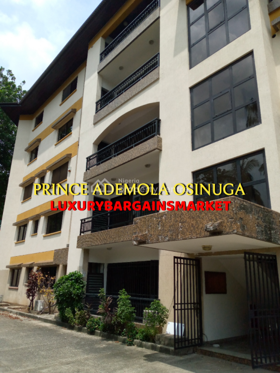 Upgraded 4 Bedroom Penthouse Apartment on 2 Floors with Pool, Central, Old Ikoyi, Ikoyi, Lagos, Flat / Apartment for Rent