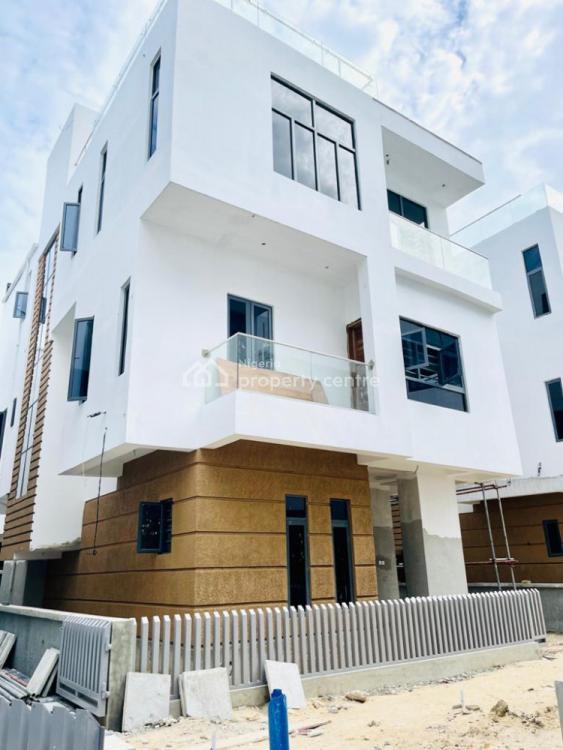 Beautiful 5 Bedroom Detached Duplex with a Maid Room, Ikate Elegushi, Lekki, Lagos, Detached Duplex for Sale