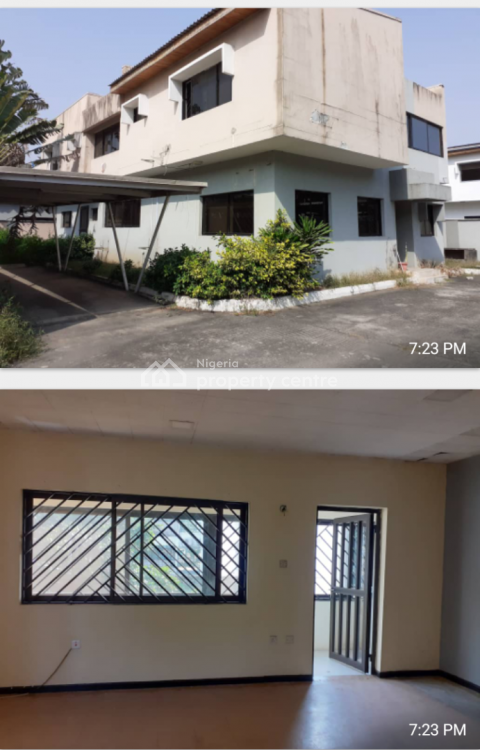 5 Bedroom Detached Office Space, Off Karimu Ikotun Street, Victoria Island (vi), Lagos, Office Space for Rent