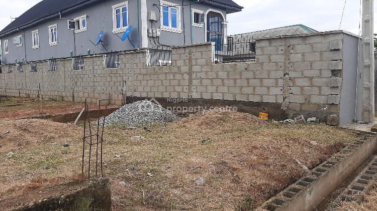 Half Plot with Foundation, Banku Estate, Warewa Along Lagos/ibadan Expressway After The Long Brid, Berger, Arepo, Ogun, Residential Land for Sale