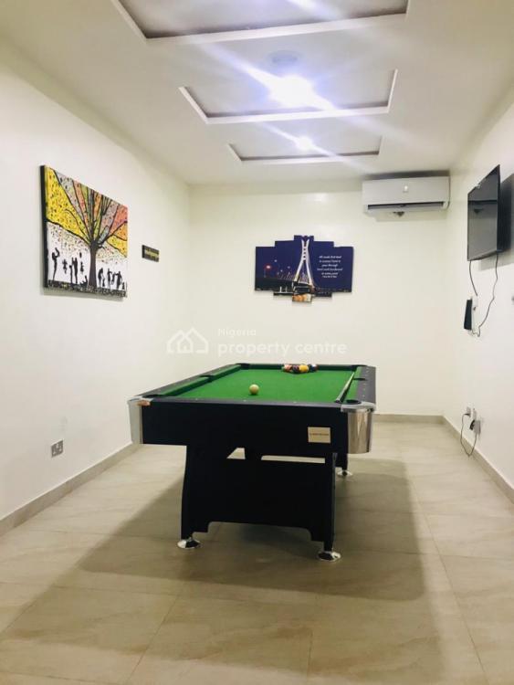 Lovely Furnished 4 Bedroom Terrace Duplexe, Osapa, Lekki, Lagos, Terraced Duplex Short Let