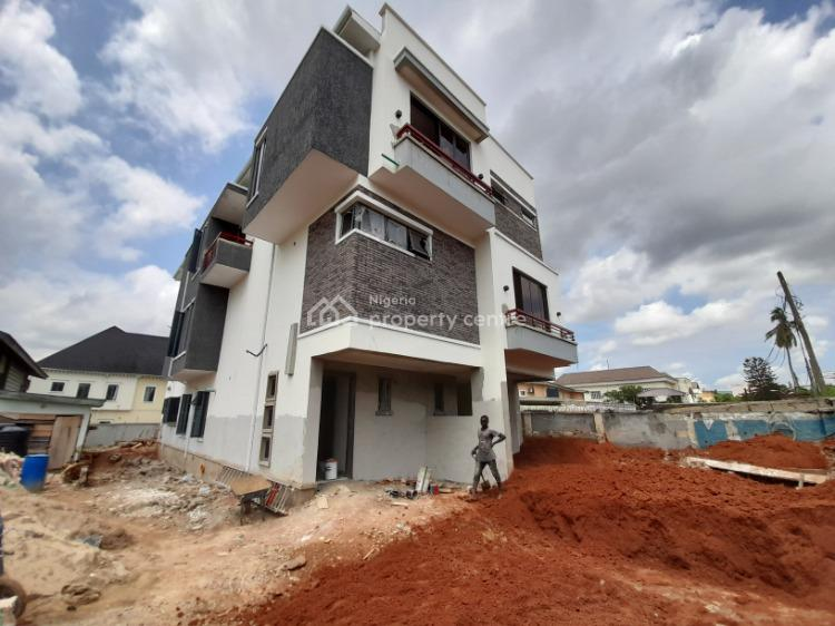 Newly Built and Luxurious 4 Bedroom Duplex with a Room Bq, Onigbonbo, Ikeja, Lagos, Semi-detached Duplex for Sale