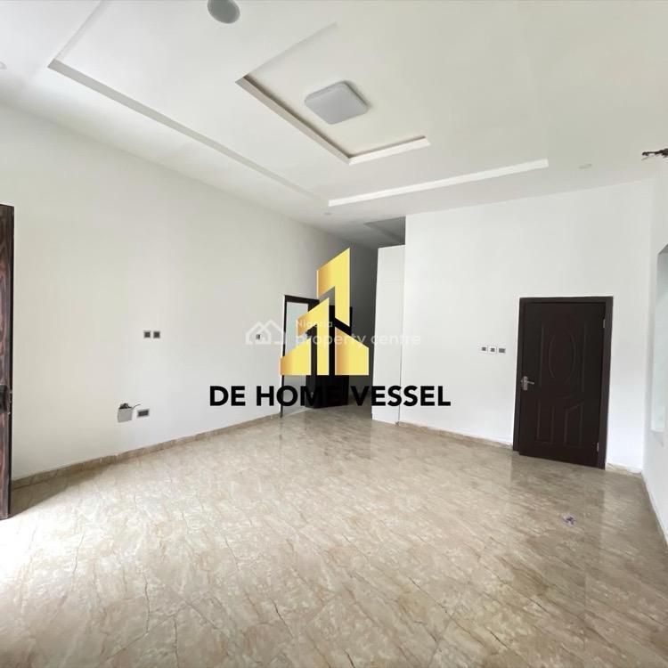 Smoothly Built 4 Bedrooms Fully Detached Duplex, Chevron, Lekki, Lagos, Detached Duplex for Sale