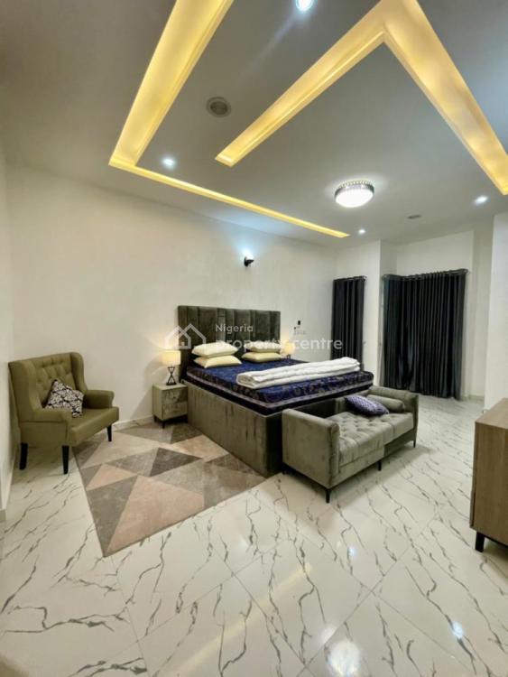 Cheap and Luxury 4 Bedroom, Chevron, Lekki, Lagos, Semi-detached Duplex Short Let