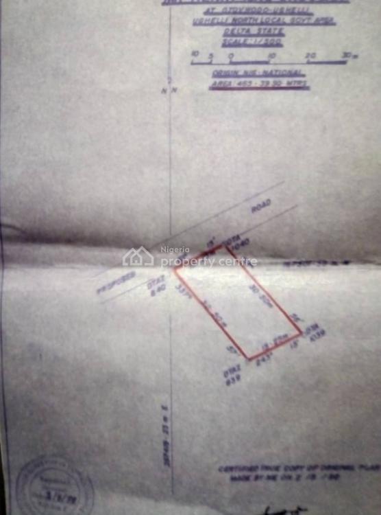 Plot of Land, Otovwodo, Ughelli North, Delta, Residential Land for Sale